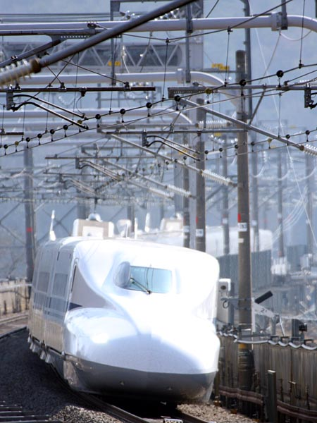 地 東海道 新幹線 撮影